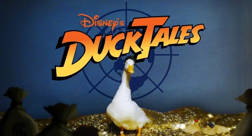 duck tales real ducks