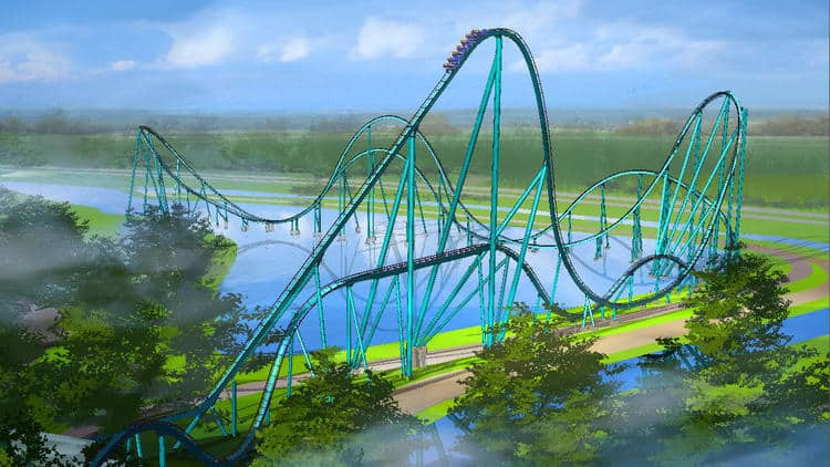 "Shark-themed roller coaster ""Mako"" coming to SeaWorld in 2016"