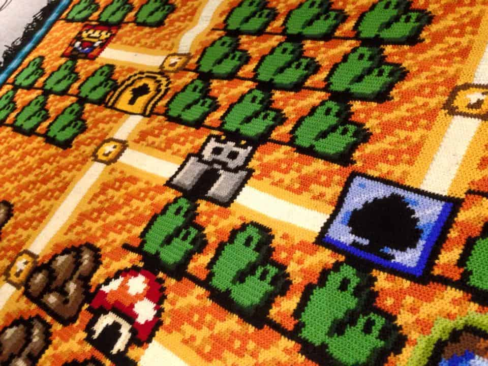 SUPER MARIO BROTHERS BLANKET 2
