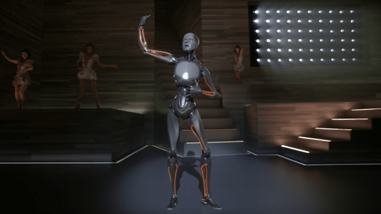 Watch Justin Timberlake's FILTHY video featuring a futuristic dancing robot