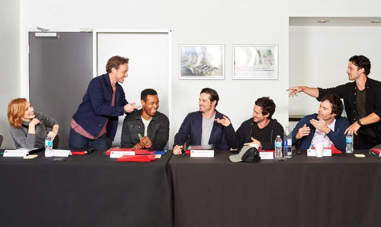 Here's your first look at IT: CHAPTER TWO's grown up Losers Club!