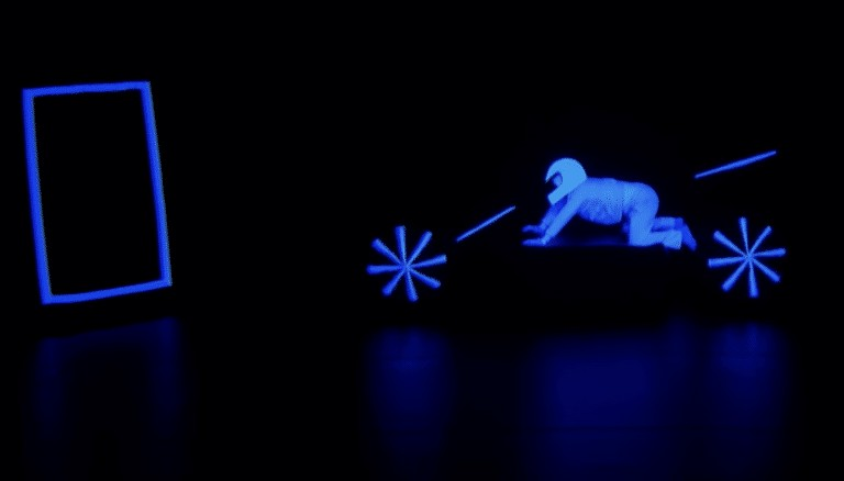 UDI Dance group glows in the dark on America's Got Talent