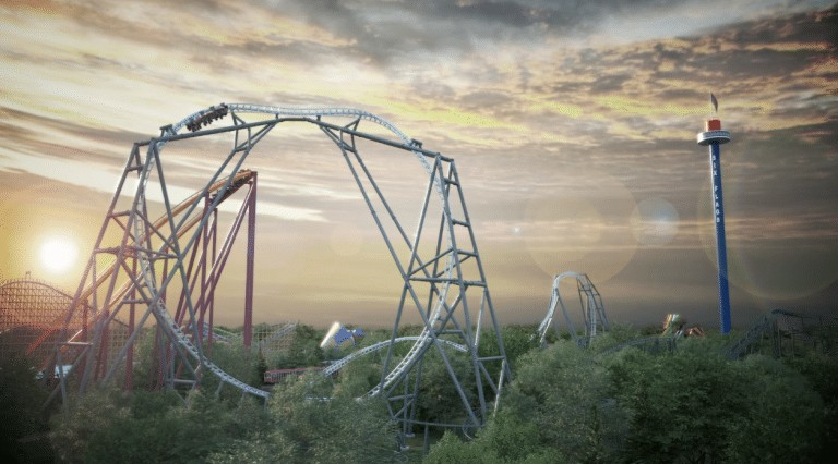 Record breaking MAXX FORCE launch coaster coming to Six Flags Great America in 2019!