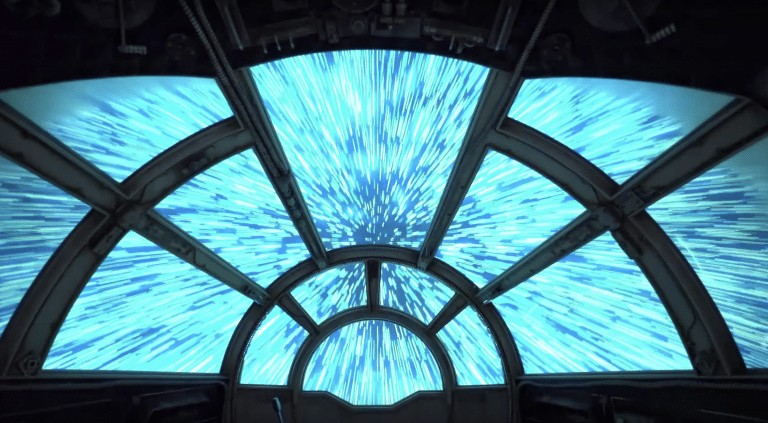 VIDEO: Ride Millennium Falcon Smugglers Run at Star Wars Galaxy's Edge