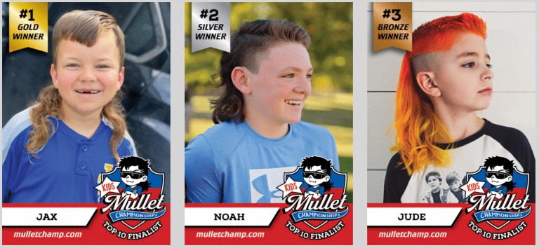USA Mullet Championships announces kid winners for 2020