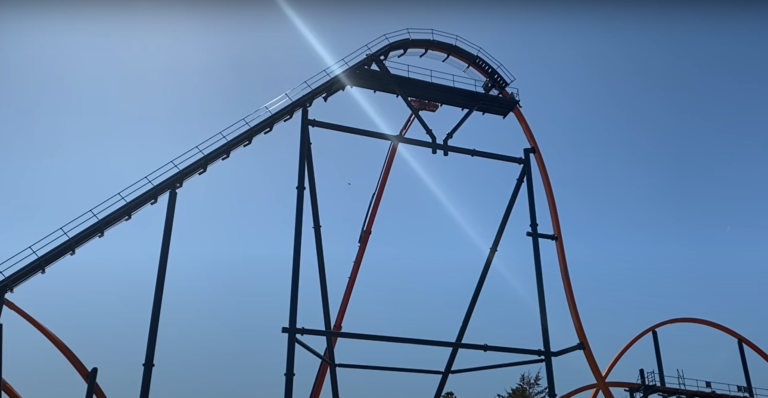 Here's another update on the Jersey Devil roller coaster construction at Six Flags Great Adventure