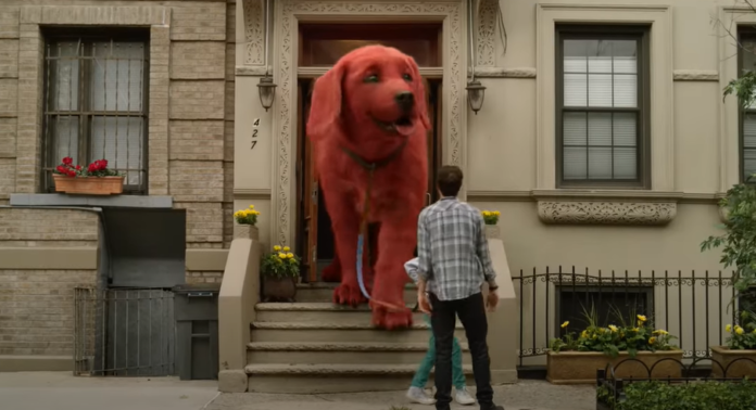 First live-action Clifford The Big Red Dog trailer