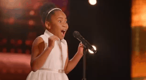 9 year-old Victory Brinker makes history on America's Got Talent